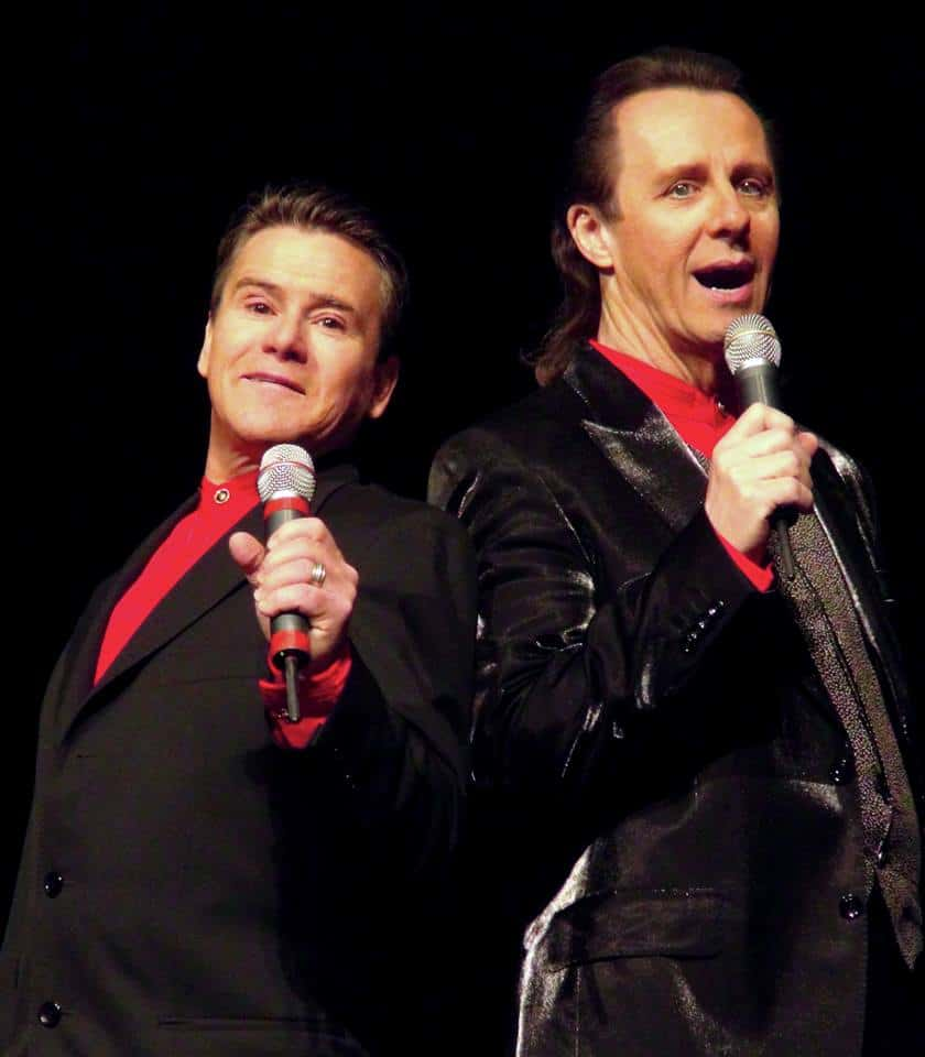 Gene Sironen and Larry G Jones as The Righteous Brothers