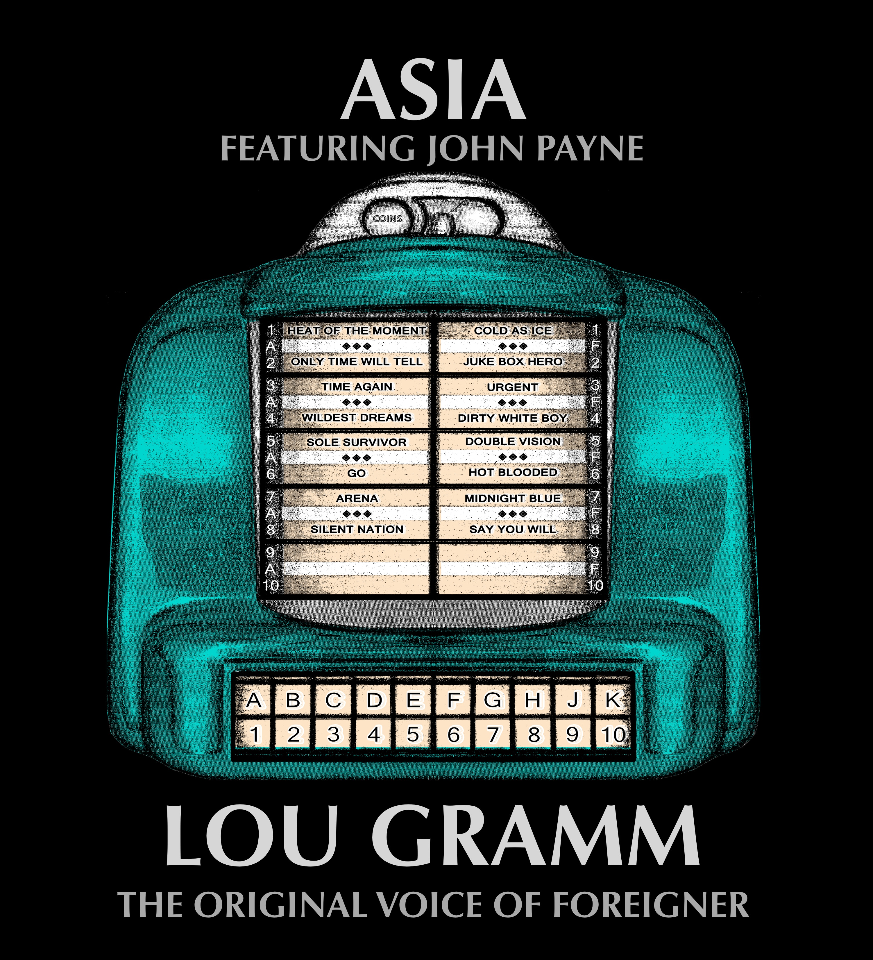 ASIA featuring John Payne/Lou Gramm – The Original Voice Of Foreigner